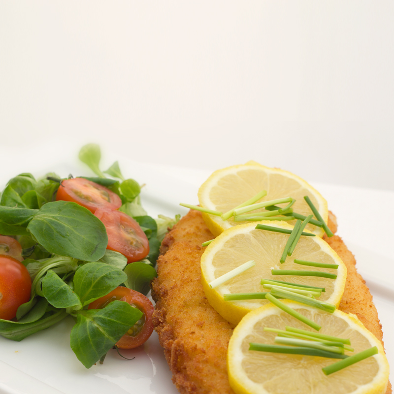 Gefrituurde Pangasius filet