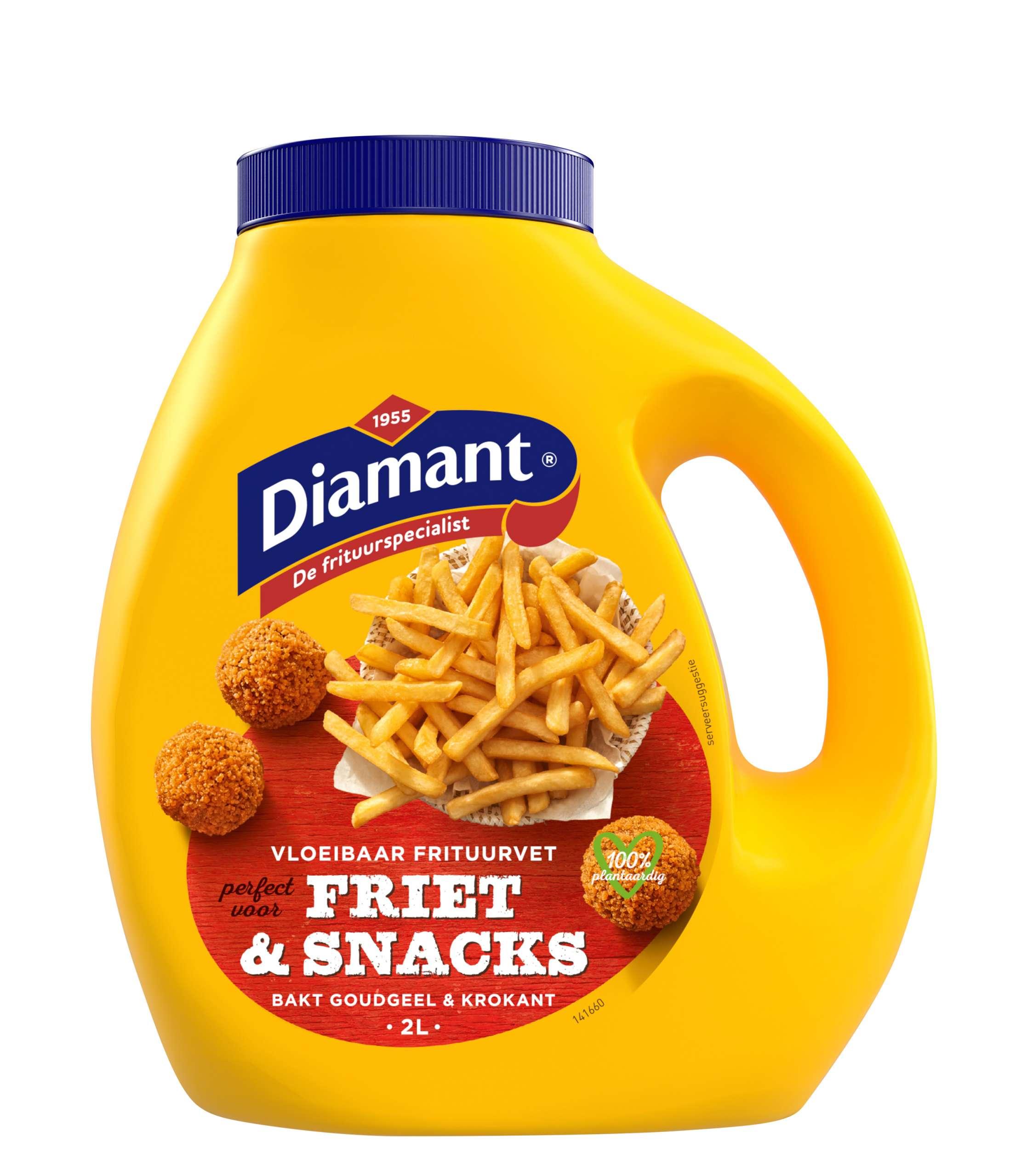Vloeibaar frituurvet voor friet & snacks 2L
