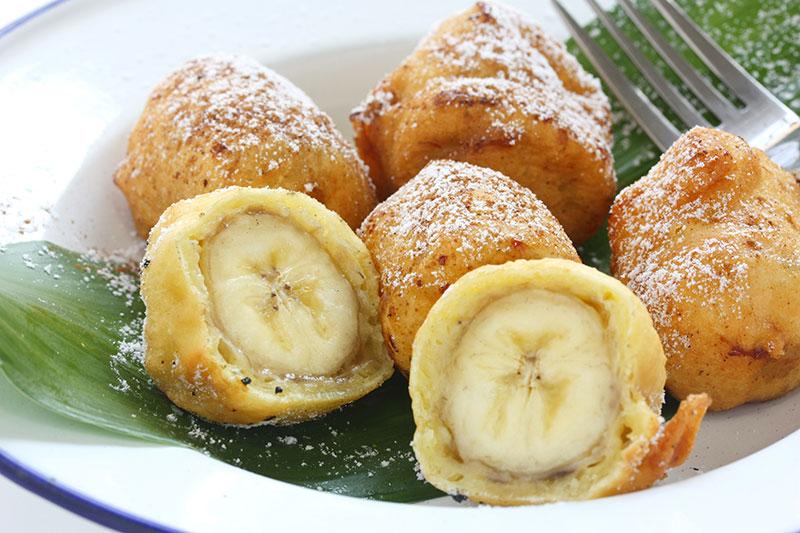 Gefrituurde banaan