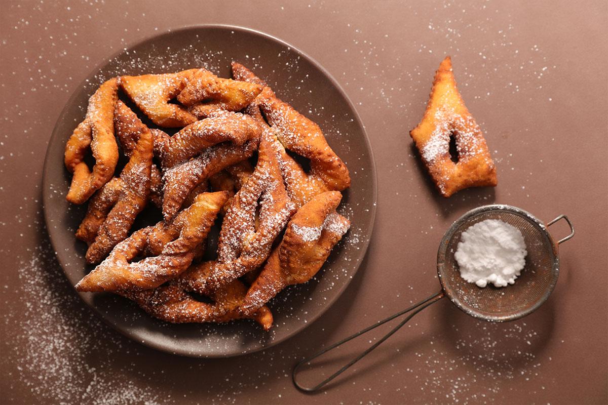 Kleinur (ijslandse donuts)