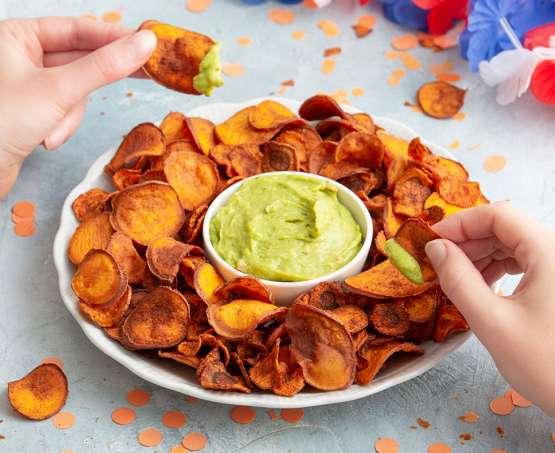 Feestelijke Oranje Chips